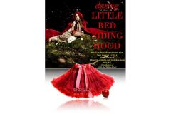 Dolly LITTLE RED RIDING HOOD Pettiskirt