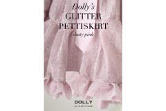 Dolly`s GLITTER PINK Pettiskirt