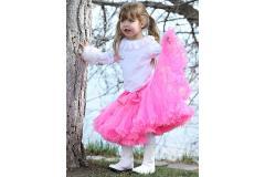 AllyGirl Hot Pink Pettiskirt, XL=7-10y