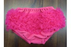 Bloomer raspberry - bavlněné kalhotky s kanýrky