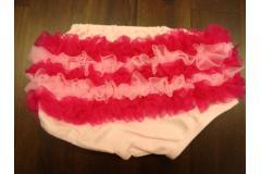 Bloomer rasp./pink - bavlněné kalhotky s kanýrky