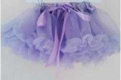 Tippy Toes Newborn Solid Lavender Pettiskirt