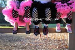 Oopsy Daisy Hot Pink Plaid Legging