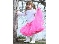 AllyGirl Hot Pink Pettiskirt, XL=7-10y