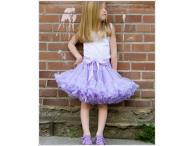 AllyGirl Lavender Pettiskirt, S=2-3y
