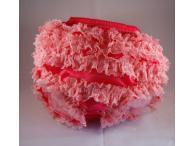 Bloomer raspberry/pink - kalhotky s kanýrky